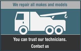 We repair all makes and models. You can trust our technicians.
